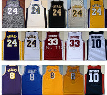 cf51984a6 ... Free shipping 8 Kobe 24 Kobe Bryant Jersey throwback 33 Bryant High  School USA 2012 dream . ...