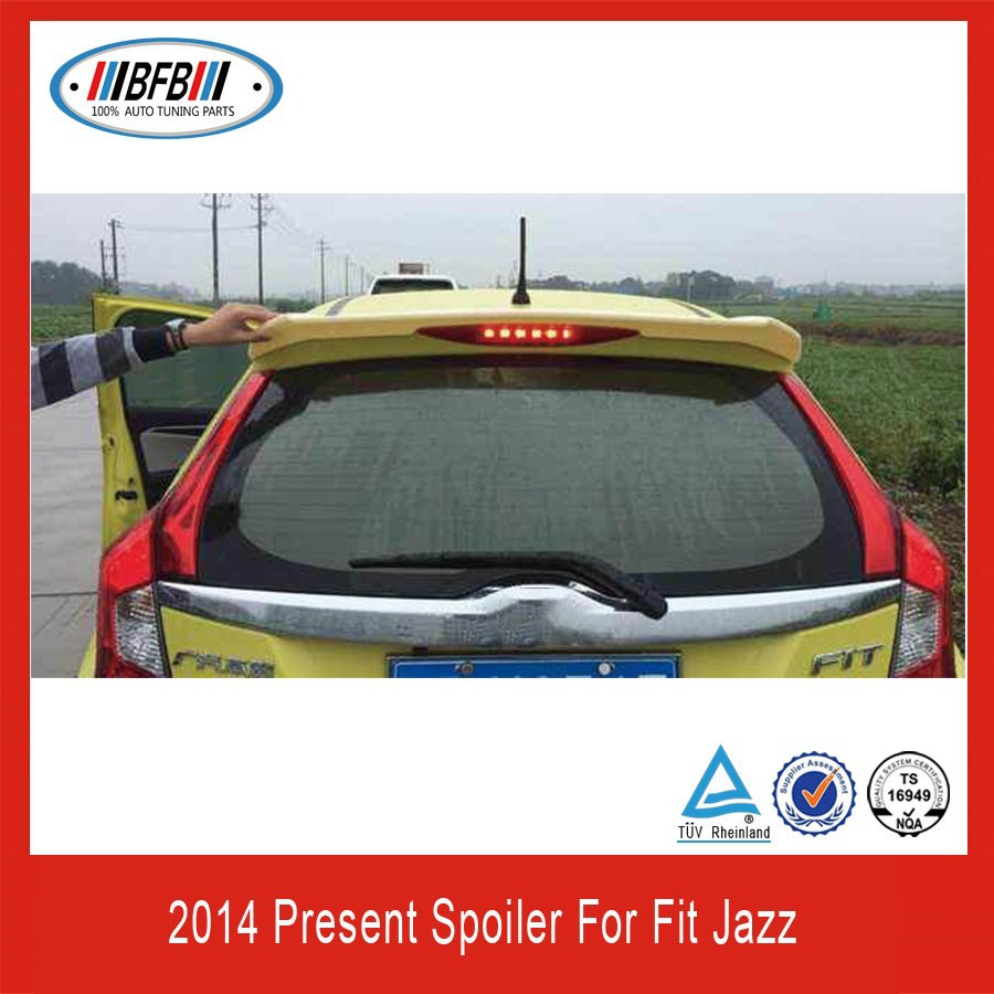REAR TRUCK ROOF SPOILER FOR HONDA FIT JAZZ 2014