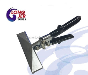 Heavy Duty 6 Inch Straight Sheet Metal Hand Seamer for HVAC Crimping Tools