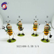 New Product Metal Garden Ladybug Insect Decoration Ornaments
