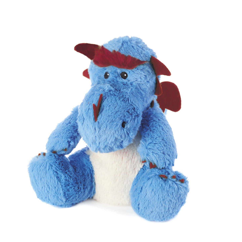 Intelex Warmies Cozy Plush Blue Dragon - Microwavable / Heatable Plush Toy