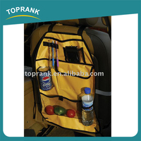 38.5*59.5CM fashion yellow hanging auto car seat organizer