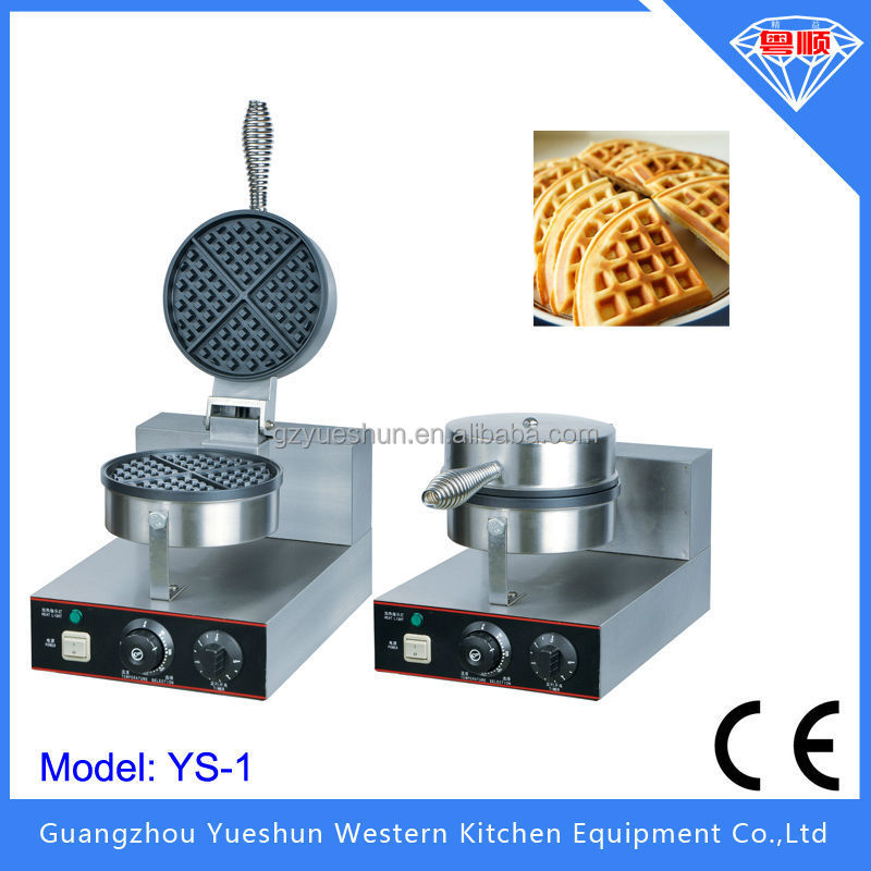 Hot Sale Commercial Single Plate Electric Waffle Maker /industrial waffle machine