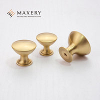 Modern Simple Style Furniture Cabinet Handle Copper Knob Pulls Home Hardware Kitchen Knob