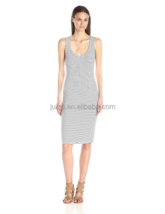 Sexy Stripe womens dresses