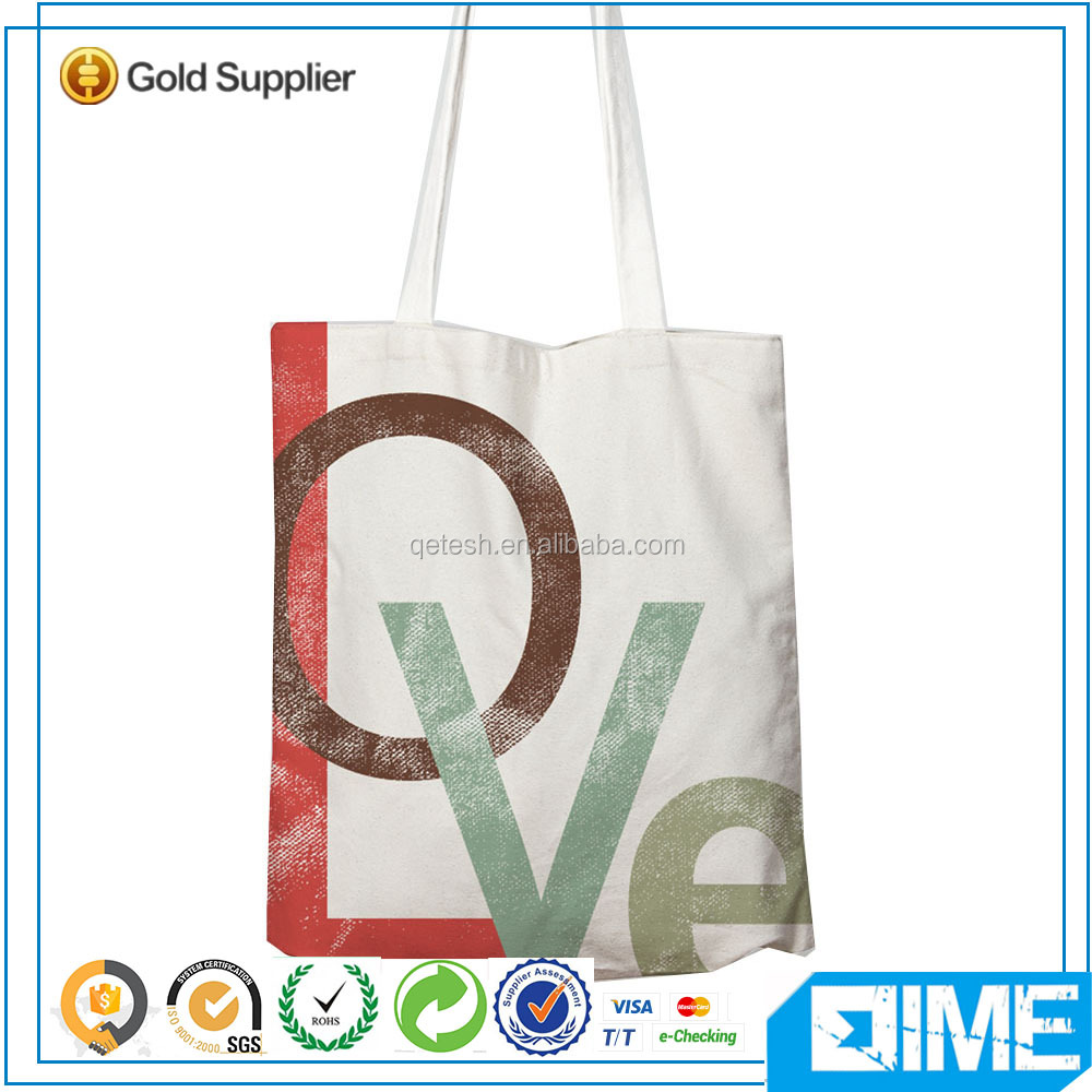 New minimalist art printed 12oz weekend bag canvas tote bag china manufacturer