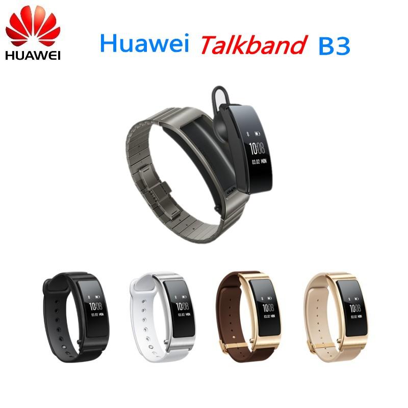Original Smart Watch Ultimate Smartband With Bluetooth Headset Huawei Talkband B3 Buy Huawei Talkband B3 Smart Watch Smart Band Product On Alibaba Com