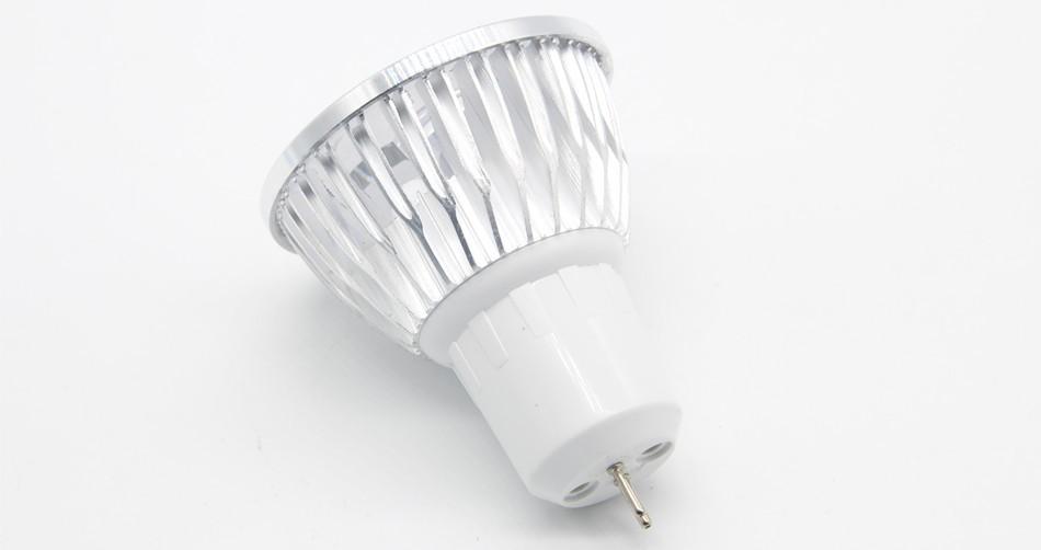 Stl pcs lampada led spotlight gu v v lampara led bulbs