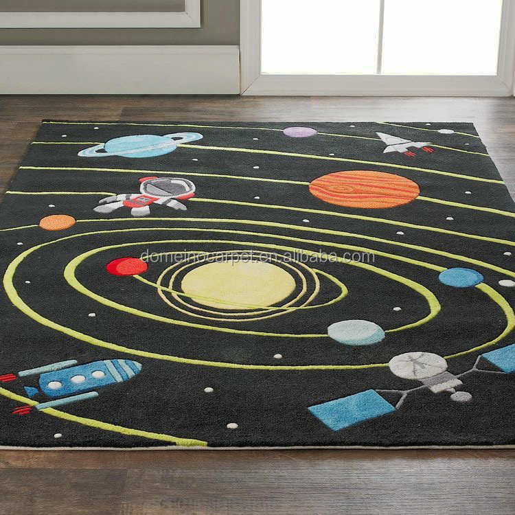 New Arrival Galaxy Space Nature Art Area Rug Cover Throw Carpet