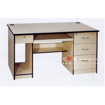 Strong 3 Drawers Computer Table With Printer Shelf