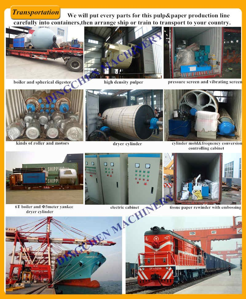 Automatic wind reeler toilet tissue paper production plant toilet tissue paper making machine