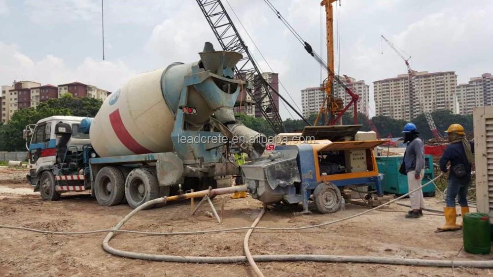 Hbt20 10d Ready Mix Concrete Pumping Equipment For Sale