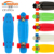 mini 22 inch complete blank deck plastic fish board cruiser skateboard with big LED wheel