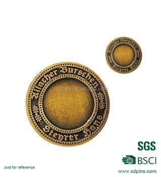 Hochwertige Metall Münzen Herausforderung Münze Indische Alte