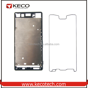 on sale 31b92 ec94a New Back Cover + Adhesive Tape + Middle Frame Bezel For Sony Xperia Z4 Z3  Plus Replacement - Buy Back Cover For Sony Xperia Z4,Back Cover With Middle  ...