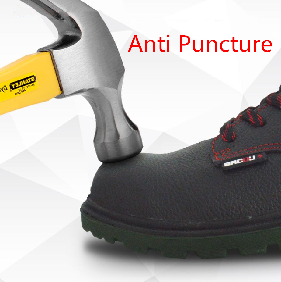 Professional big brand safety shoes for engineering safety workers Anti smashing anti static Electrically insulated water proof