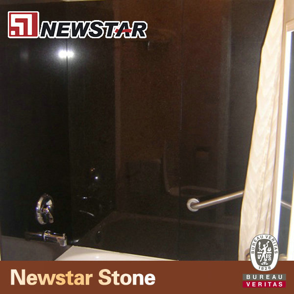 Natuurlijke leisteen stenen muur douche buy product on - Leisteen muur ...