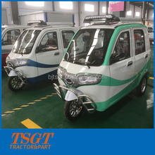 luxury interior cabin for electric tricycle/rickshaw/three wheeler/tri-car comfortable driving passenger taxi model India Bajaj