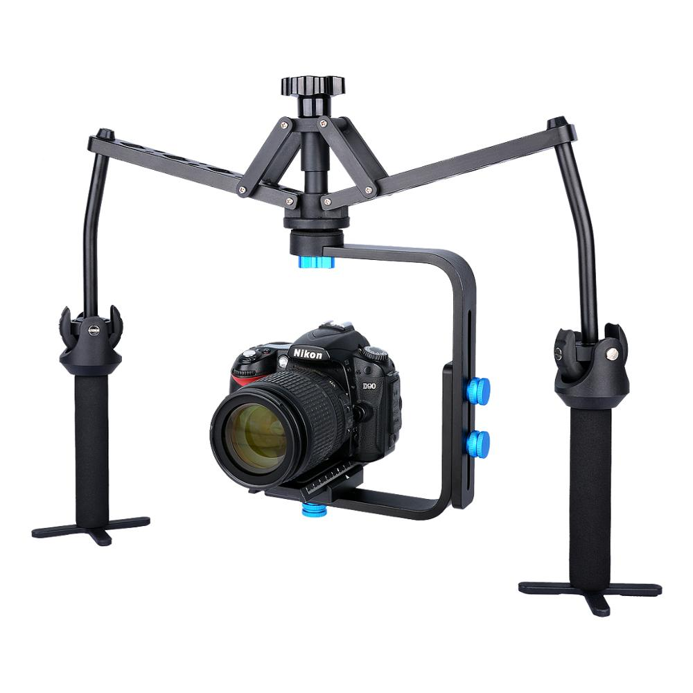 YELANGU S1 Mechanical Handheld Spider Stabilizer for DSLR Camera