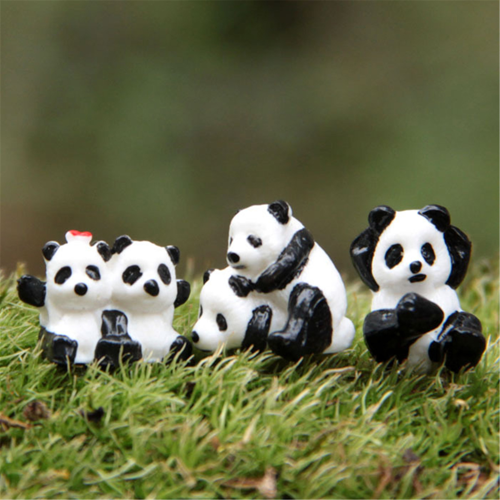 Buy Doll Furnishing Articles Resin Crafts Home Decoration: Online Buy Wholesale Panda Figurines From China Panda