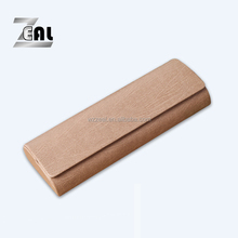 handmade high quality eyeglasses case/sunglasses case magnet closure PU case