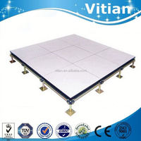 Vitian anti static anti abrasion vinyl raised access floor for data center