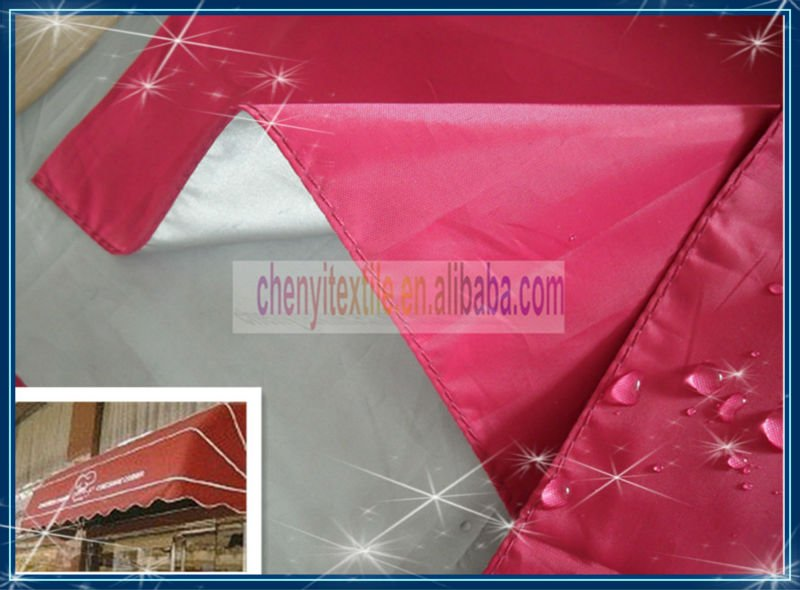 100% polyester waterproof awning fabric polyester