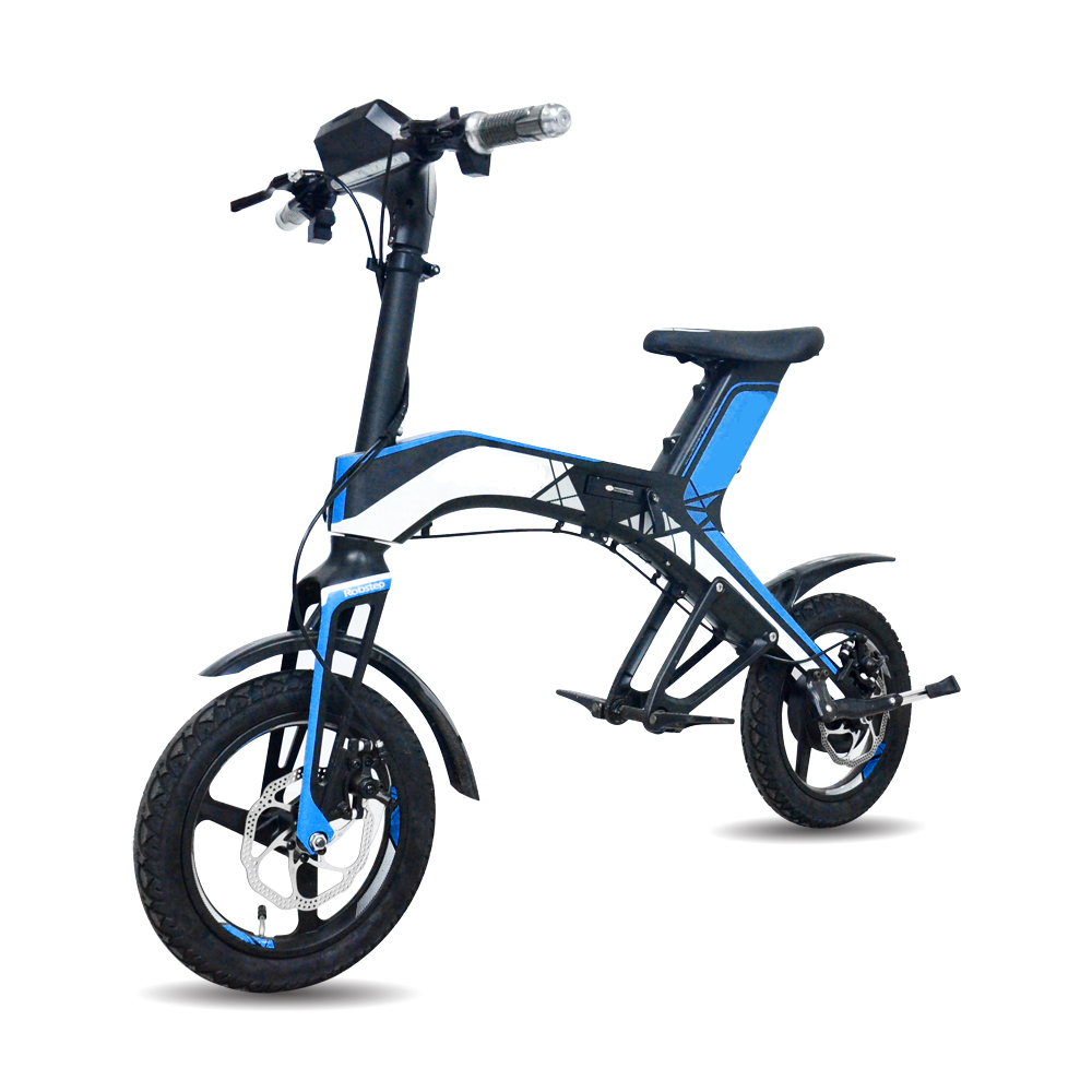 2019 New Products China Robstep OEM Folding Electric Bicycle 14 inch