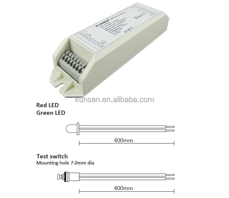 12 ~ 70v Low Voltage Universal Led Emergency Inverter For Led ...