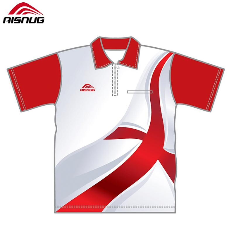 0e8172bcb Ireland Target Team printed custom dye sublimation darts shirts with pocket