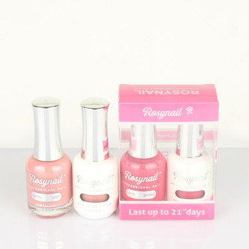 Private Label Own Brand Nail Polish 2 In 1 Perfect Match Gel Nail Polish Set