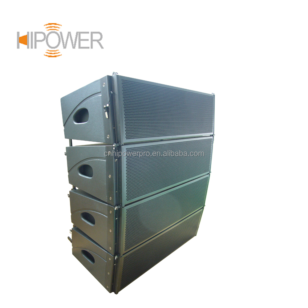 Dual 8 Inch Line Array Speaker, Dj Equipment LA-8 Professional Audio Outdoor Stage Sound Speaker System