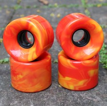 70mm mix farbe longboard rollen, 78A eis longboard wheels