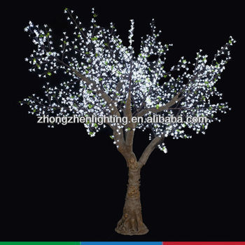 36m tall outdoor change color cherry tree lighthigh simulation christmas tree - Led Christmas Tree Lights That Change Colors