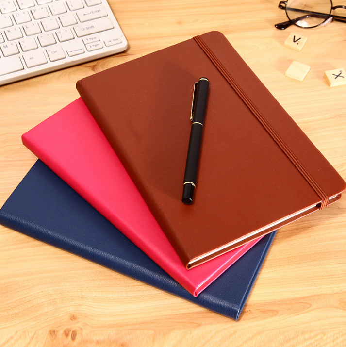 Fancy personalized hardcover writing leather journal diaries