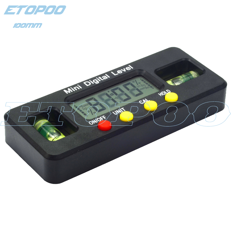 Nieuwe Stijl 200mm Digitale Pratractor Plastic Inclinometer