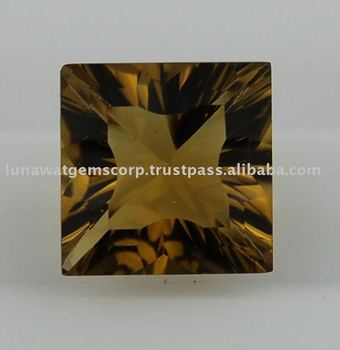 Whisky Quartz Lite Concave Cut Square 12mm LF048 WQ