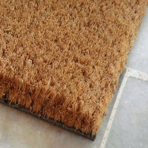 PVC Outdoor Blank Plain Coco Coir Door Mats
