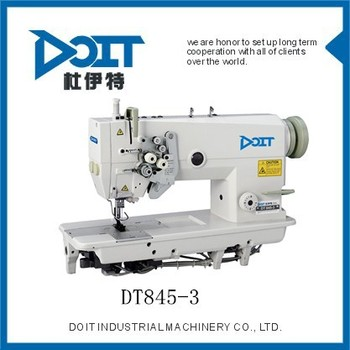 DT845-3 High speed double needle industrial lockstitch sewing machine