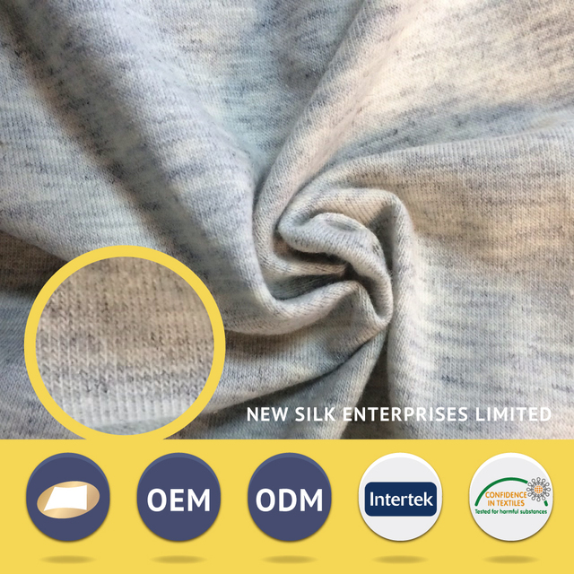 Reliable Partners special price grey melange 60 40 tc fabric