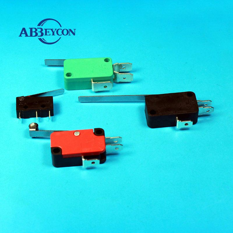 2position on-off lever limit switch certificated mechanical push button micro limit switch