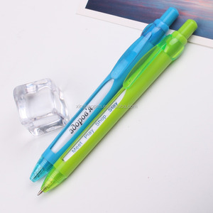 retractable cute plastic stamping logo windows 4 message changing pen