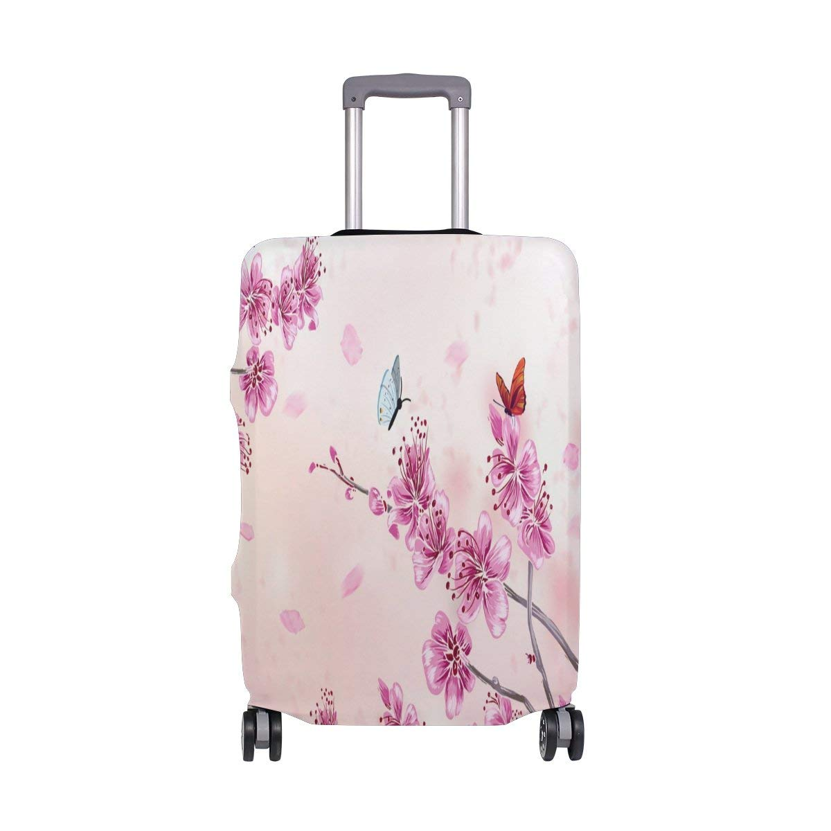ALAZA Different Daisy Flower Polyester Luggage Travel Suitcase Cover Case Protector