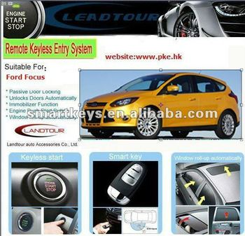 Ultra Start Remote Car Starter Anti Theft System Door Auto Lock Open For Ford