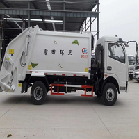 favorable price compression garbage truck with best sale