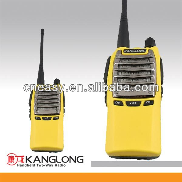 Flash Light!! walkie talkie 15lm range good quality yellow ham radio KL-9200