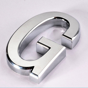 Self-Adhesive Chromed letters House Numbers Door Numbers Hotel Room Numbers