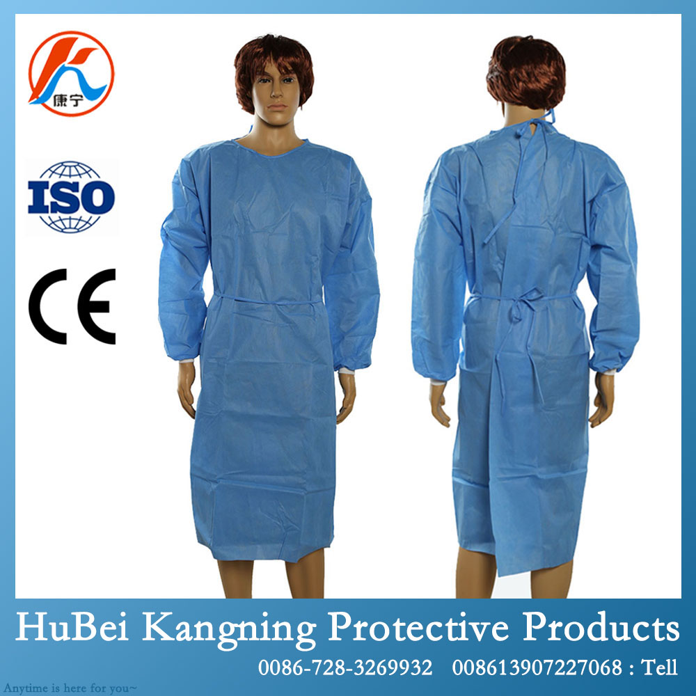 Sms Hospital Smock Gown Disposable Medical Gown - Buy Medical Gown ...