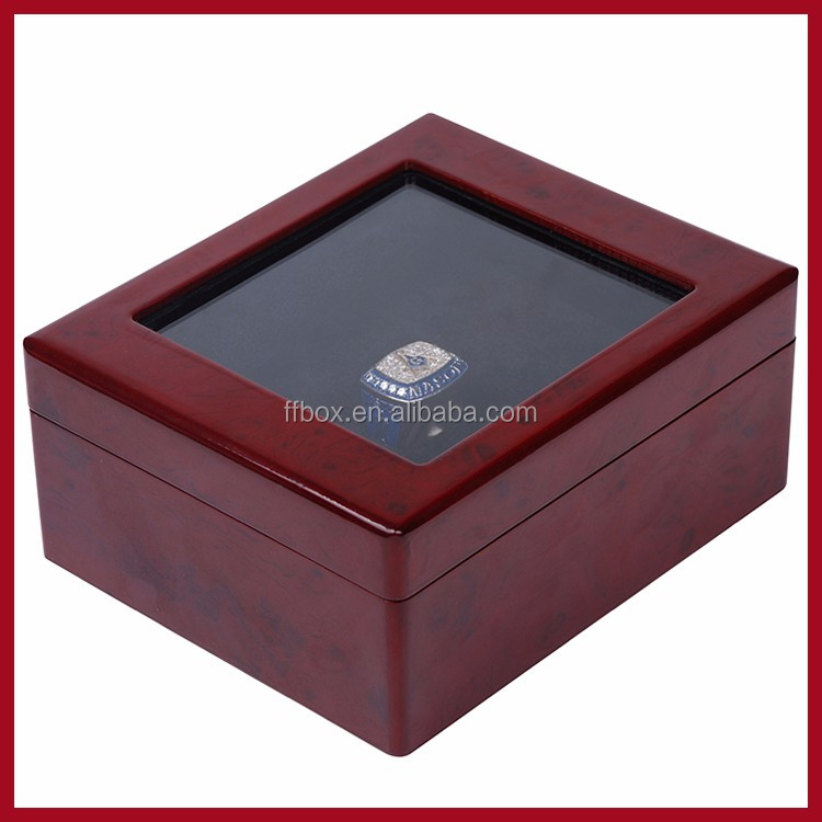 wholesale led light chionship ring box with window
