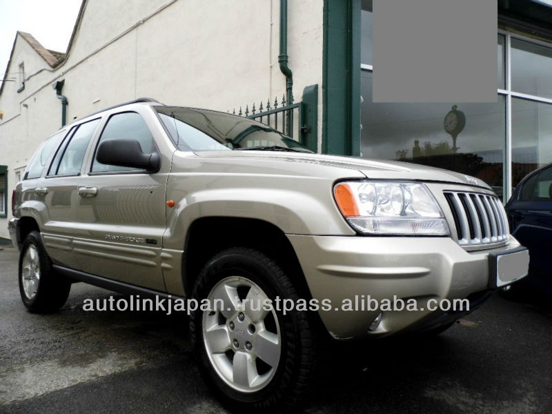 2004 Jeep Grand Cherokee 2.7 CRD Limited 5dr Auto - 22329SL/R